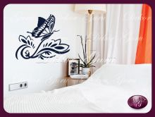 Virág 035. Butterfly wall stickers